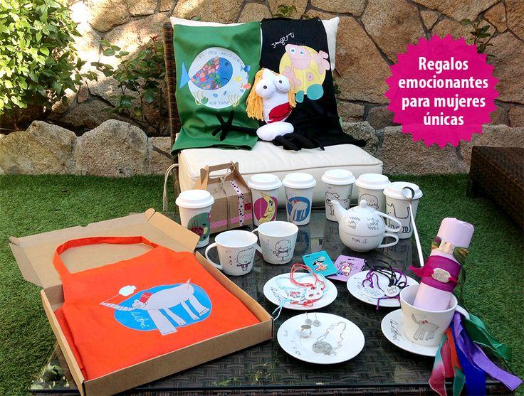 Regalos personalizados por los hijos para regalar en el día de la madre. #Regalos #DiadelaMadre #Midibu4U