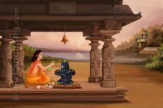16 Step Shiva Pujan