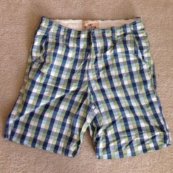 MENS plaid shorts Hollister Shorts