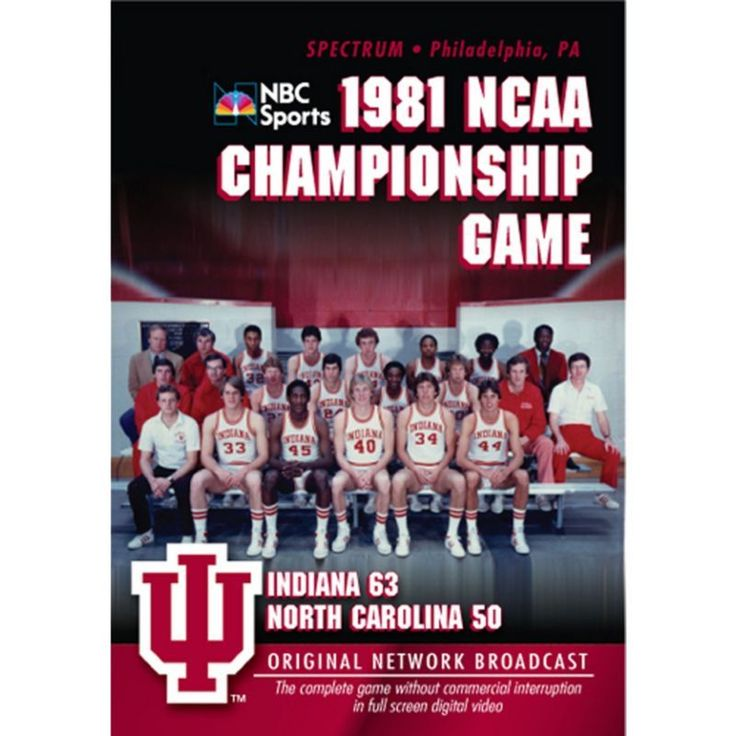 1981 NCAA Men's Basketball National Championship Game