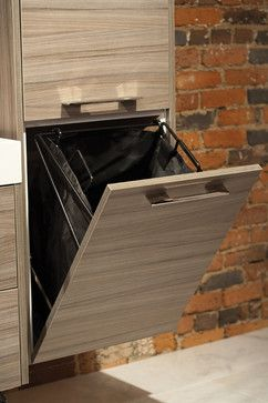 Integrated Lighting and Organization contemporary bathroom vanities and sink consoles