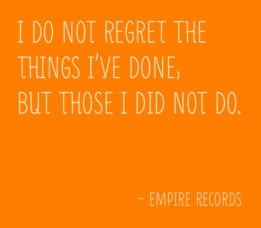 Lucas knows what he's talking about -- Empire Records
