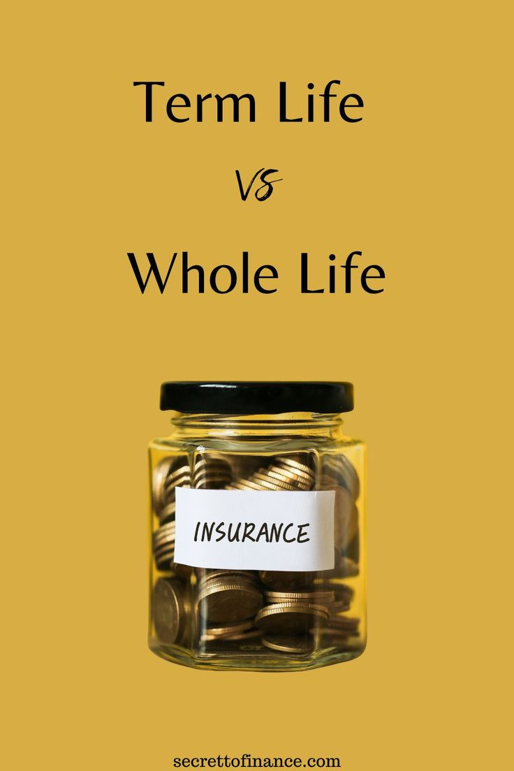 Term vs whole life insurance in 2020 life insurance cost