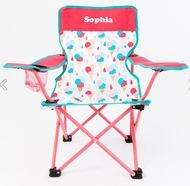 Children's Chair Tutti Frutti - ready for that ice- cream feeling with abit of personalised feeling as well http://teddybearsandgifts.com.au/childrens-chair-tutti-frutti/
