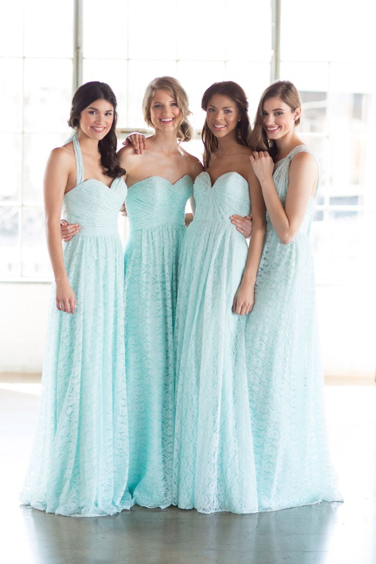 10 best bridesmaids dresses at mia sposa images on pinterest watterswtoo mint lace bridesmaids dresses ombrellifo Images