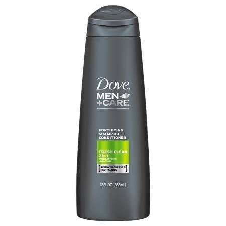 Dove Men+care 2 In 1 Shampoo And Conditioner Fresh And Clean - 12 Oz.