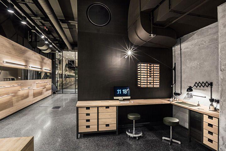 leidmann eyewear shop by kirsten scholz stephanie thatenhorst munich germany retail. Black Bedroom Furniture Sets. Home Design Ideas