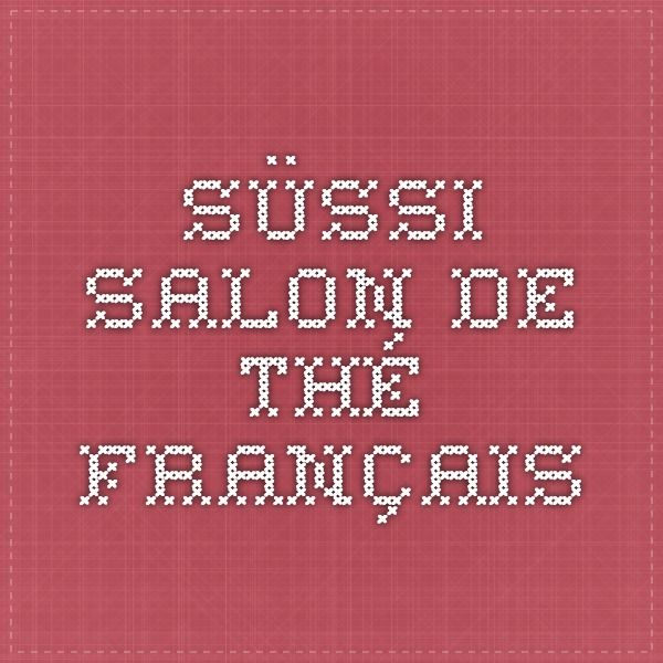 Süssi - Salon de Thé Français