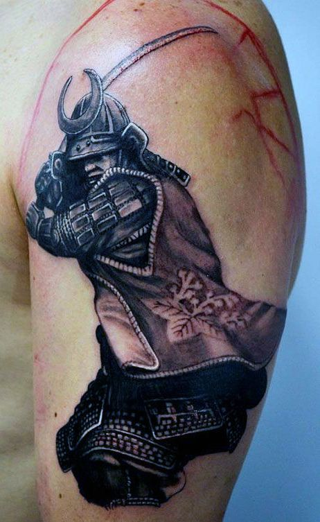 Warrior Horse Tattoo For Arm photo - 1