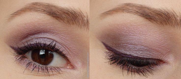 Review of Elf Cream Eyeliner - Plum Purple