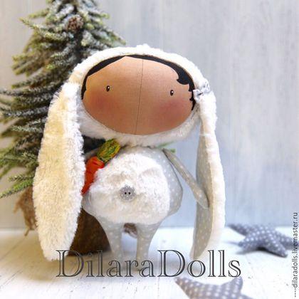 Купить или заказать тильда кукла в интернет-магазине на Ярмарке Мастеров. тильда куколка в костюме зайки ????