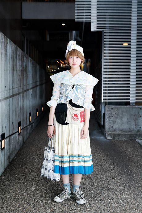ストリートスナップ [7A] | used, かみおまり, 古着 | 原宿 | Fashionsnap.com