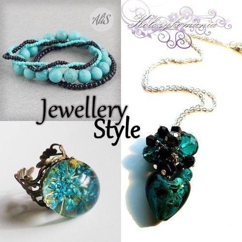 Jewellery Fashion | kolczykomania  Stylizacja biżuteryjna: w morskiej aurze  bransoletka : http://kolczykomania.com/produkt/turkusowy-howlit naszyjnik : http://kolczykomania.com/produkt/turkusowe-serce pierścionek : http://kolczykomania.com/produkt/kwiaty-w-zywicy-pierscien-turkusowo-nie...  Stylistka: PracowniaangeluS