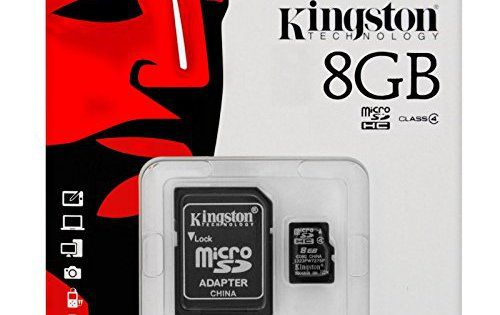 keple | 8Go Carte mémoire Micro SD pour appareil photo blusmart Trail: Polyvalent-lorsqu'il est combiné avec l'adaptateur, peut être…