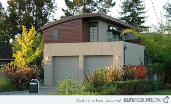 Best 15 Detached Modern And Contemporary Garage Design 400 x 300