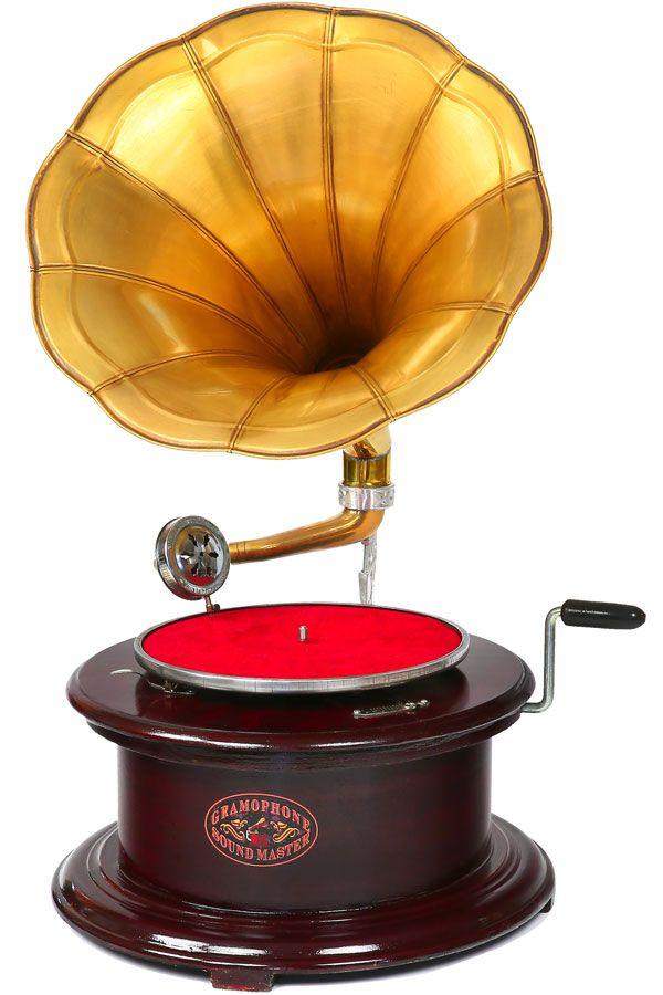 Gramofon kulatý