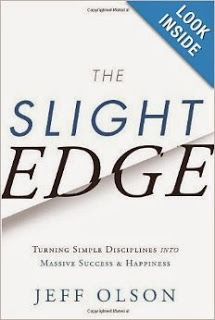 New Age Mama: Book Review - The Slight Edge by Jeff Olson