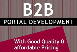 B2B Portal Development  If you have a B2B business and planning to create a B2B portal then our experts will help you to complete your B2B portal requirement. We offer complete B2B portal development solutions with world class quality  http://ecodetechnolabs.net/b2b-portal-development.html
