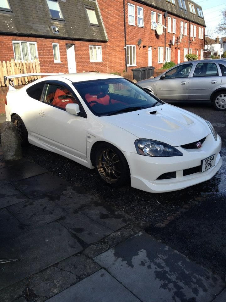 My #DC5 nice and clean!