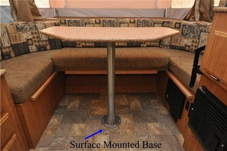 Ap Products 013 951 29 1 2 Quot Rv Dinette Table Leg Post