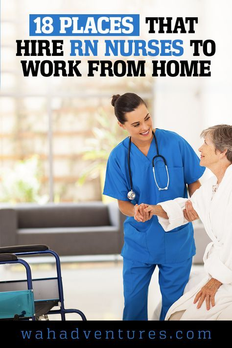 Are you an RN looking for work from home nursing jobs? These jobs pay competitive salaries and benefits, and you can work from your home office!