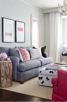 Best 49 Pink & Grey Decor images on Pinterest | Home decor