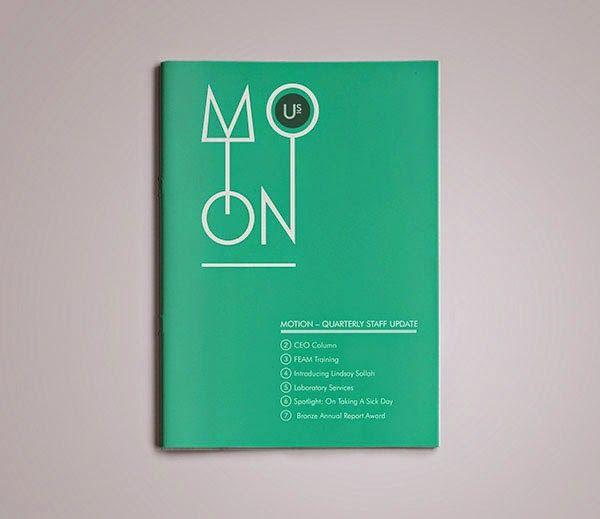 annual report design inspiration