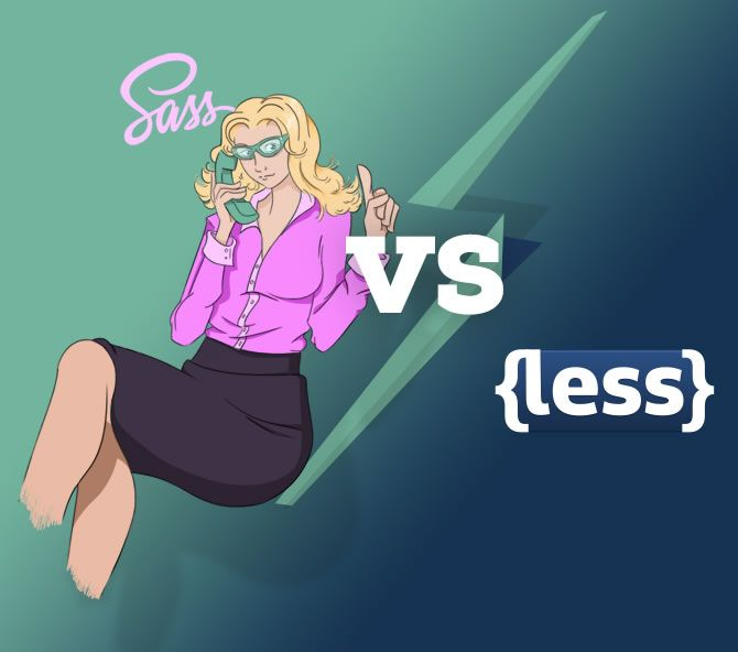 LESS vs Sass? It's time to switch to Sass #CSS #SASS #LESS