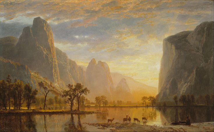 Albert Bierstadt - Valley of the Yosemite