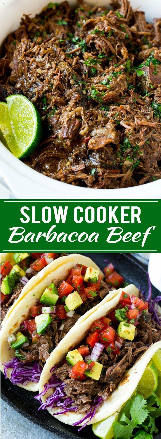 Barbacoa Beef Recipe   Slow Cooker Barbacoa   Chipotle Copycat Recipe   Mexican Beef Recipe