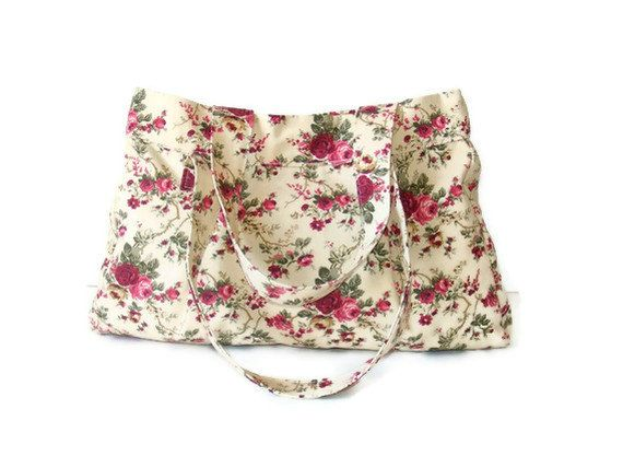 SALE Hobo Tote Bagseveryday bagpink greengift ideasfor by seno, $40.00