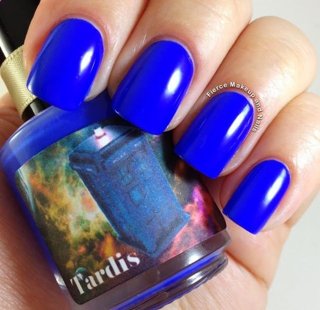 Fierce Makeup and Nails: Honey Buttons Nail Polish: Doctor Who Trio http://@Heather Creswell Creswell Sanders .