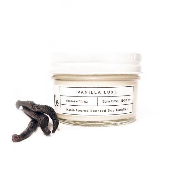 Soy Candle Vanilla 4oz