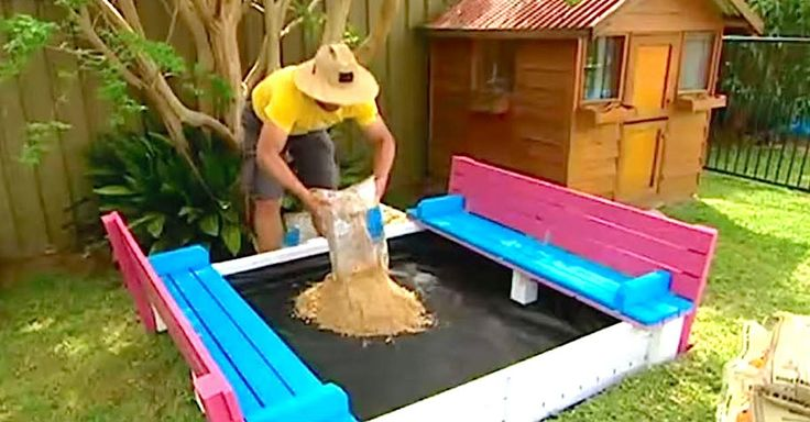 581a063bfdcf43e7d631295df128e668  build a deck how to build - Build A Sandpit Better Homes And Gardens