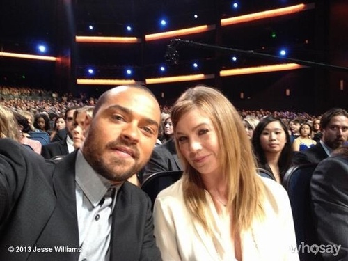 Two Of The Grey's Anatomy Cast <3