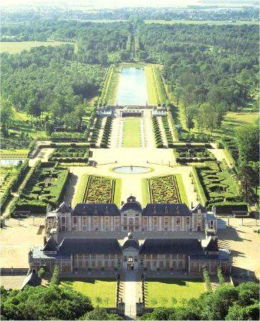 Chàteau et Jardins des Champs de Bataille, Haute-Normandie - France XVIIe siècle