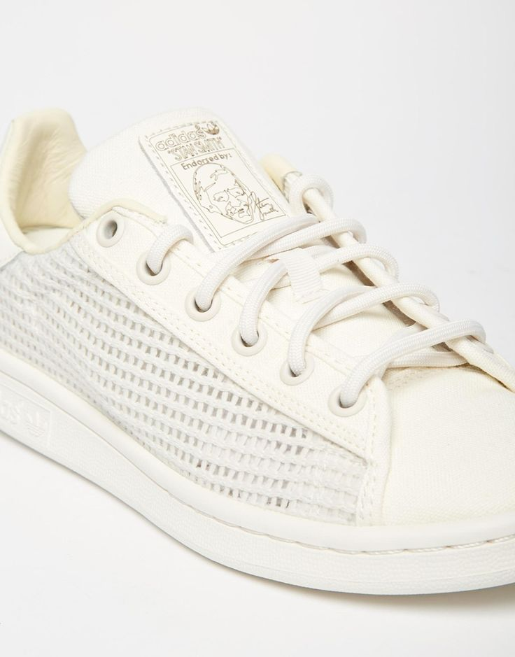 Image 4 - Adidas Originals - Stan Smith - Baskets tressées - Crème