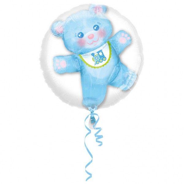 Poze Balon botez folie metalizata Insider Baby Boy 60x60 cm