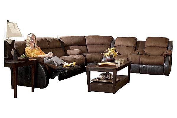 The Presley Espresso Sectional From Ashley Furniture