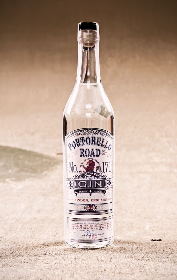 Portobello Road Gin bottle