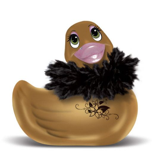 Pato vibrador gold. aixasensual.com