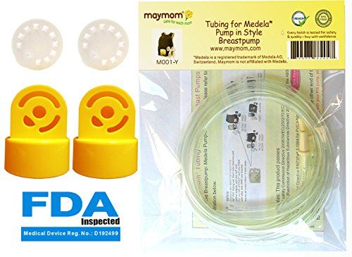 #manythings This product includes 2 membranes, 2 valves and 2 tubings for Medela's #Pump In #Style Advanced breastpump released after July 2006. Medela has releas...
