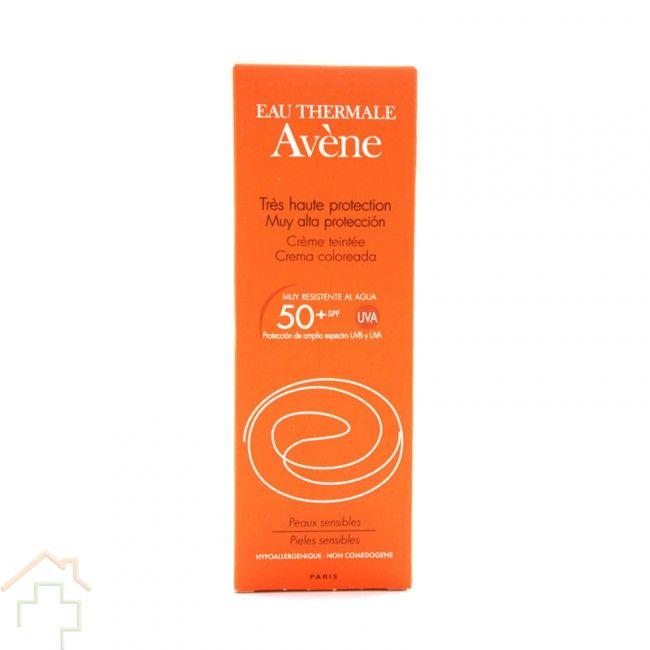 #AveneSPFCremaColor es un #protectorsolar en crema que ofrece una muy alta protección ante los rayos UVA. Está especialmente indicado para pieles sensibles. http://farmaciayvida.com/avene-spf-50-crema-muy-alta-proteccion-color-50-ml.html