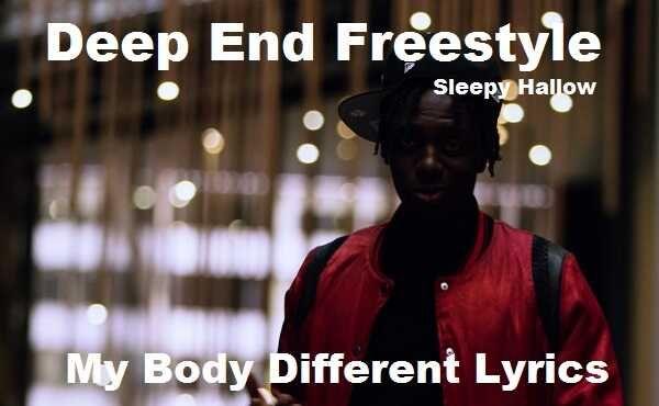 My Body Different Song Lyrics Lyrics Deep Latest Song Lyrics Lyrics