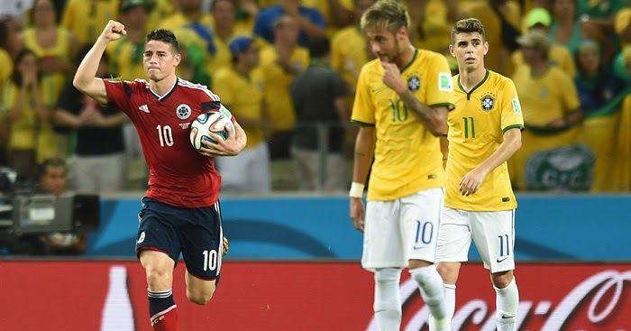 Brasil vs Colombia en vivo | Futbol en vivo - Brasil vs Colombia en vivo. Canales que pasan Brasil vs Colombia en directo enlaces para ver online a que hora juegan fecha y datos del partido.