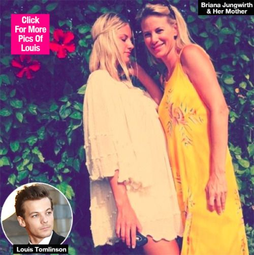 Louis Tomlinson's ex Briana Jungwirth pictured with their... #LouisTomlinson: Louis Tomlinson's ex Briana Jungwirth… #LouisTomlinson
