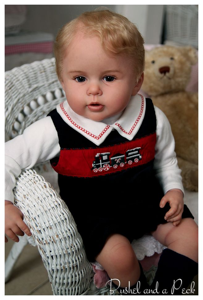 Prince George Reborn Doll On Ebay Very Realistic And