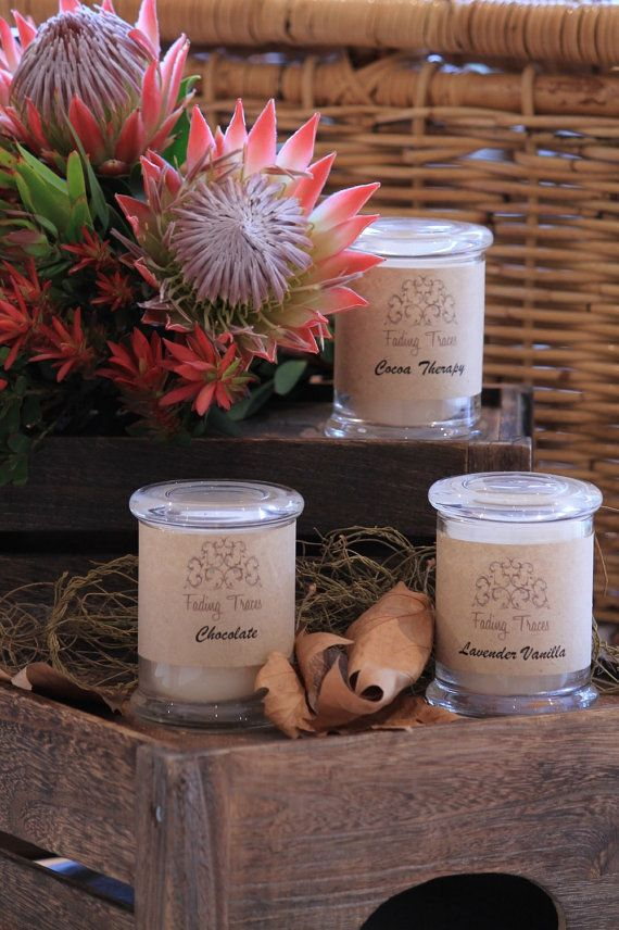 Triple Scented Container Candles 30 hours by FadingTraces on Etsy