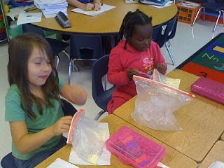 Lots of experiments for solids, liquids and gases!