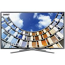 """Buy Samsung UE43M5500 LED Full HD 1080p Smart TV, 43"""" with Freeview HD, Dark Grey Online at johnlewis.com"""